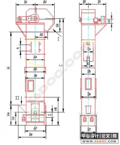 施工提升机限位器接线图