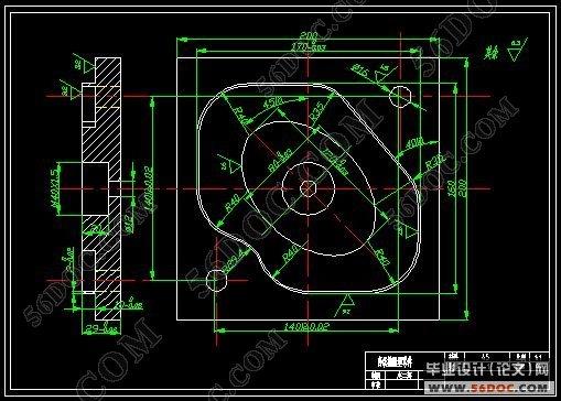 4. 编写程序单 根据数控机床规定的指令代码及程序格式编写加工程序单。 5. 制作控制介质 简单的数控程序直接采用手工输入机床。 6. 程序校验 程序必须经过校验正确后才能使用。一般采用机床空运行的方式进行校验,有图形显示卡的机床可直接在CRT显示器上进行校验。以上方式只能进行数控程序、机床动作的校验,如果要校验加工精度,则要进行首件试切校验。 〖文库163网 HTTP://www.