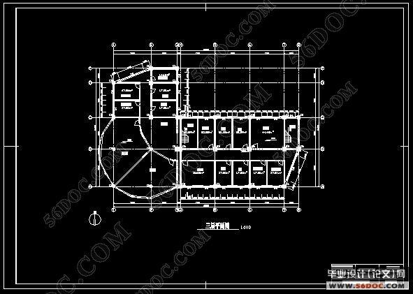 求 毕业设计 框架结构 6000㎡ 办公楼 全套图纸 计算书 !
