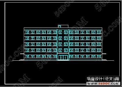 五层框架结构大学教学楼设计