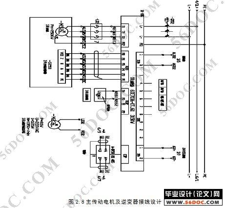 全自动电镀生产线调度小车系统的设计(附电气原理图) 某市北部地区220