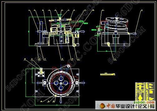 ca10b解放牌汽车中间轴轴承支架夹具设计(课程设计)