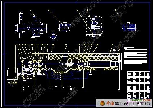 c6150车床数控化改造总体机械部件设计