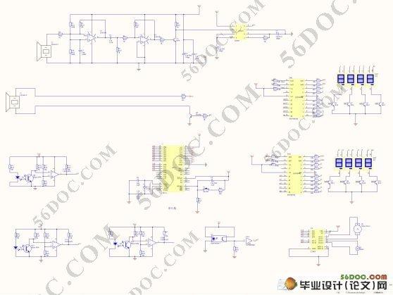 智能小车设计(电路图 程序 pcb图 cad图纸)