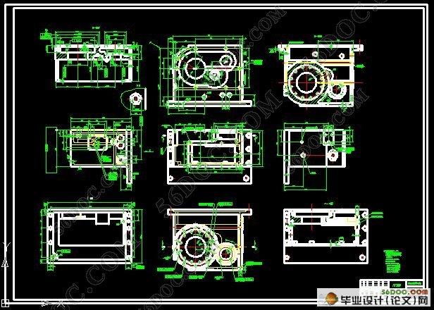 工艺过程卡)(含任务书,开题报告,论文说明书10000字,外文翻译,cad图纸) 摘 要 [摘要]:在机械产品制造中,机械加工工艺规程和机床夹具起着十分重要的作用,零件的加工质量与零件的加工工艺、正确的定位及机床夹具有着直接的关系。合理的工艺规程设计及夹具设计对于保证零件的加工精度,缩短辅助时间,提高劳动生产率,降低生产成本,及减轻加工工人的劳动强度和降低对工人的技术要求有着十分重要的意义。 本文主要讲述了加工变速箱箱体工艺过程的设计及铣、镗两道工序机床专用夹具的设计.