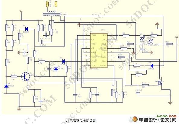 主板开关电源的设计及检测(附开关电源电路原理图)