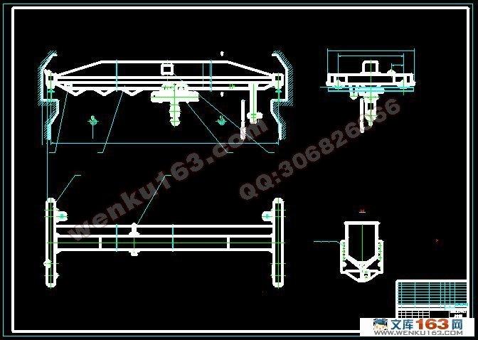 5t单梁桥式起重机金属结构设计
